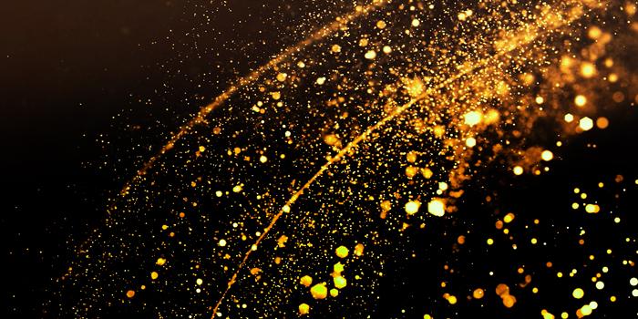 Bright confetti lights