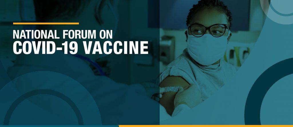 National Forum on COVID-19 Vaccine | Rainmakers Strategic Solutions | CDC | Scott Circle Communications | Hargrove, Inc